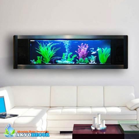 Jasa Pembuatan Aquarium Dinding